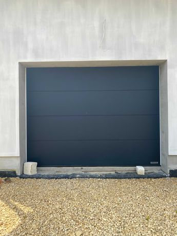Brama garażowa Hormann 3000 x 2250 mm antracyt z napędem Promatic