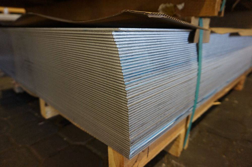 Blacha aluminiowa, aluminium 3,0x1000x2000mm gat. 1050 H14/H24 BYTOM Bytom - image 1