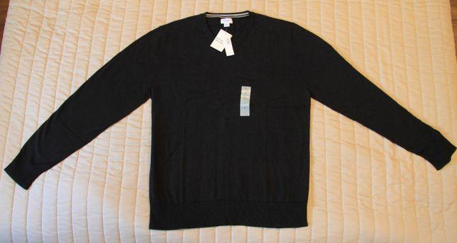 Sweter czarny, rozmiar L