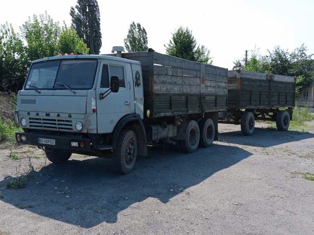 Продам КАМАЗ 5320 з причепом! (Документи і на КАМАЗ і на причіп є)