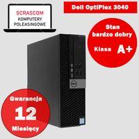 Komputer stacjonarny Dell 3040 i5 8GB 240GB SSD Windows 10 gwarancja