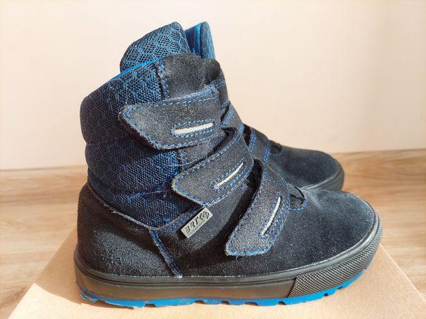Kozaki buty zimowe BARTEK skóra membrana roz 30 wkł 19cm
