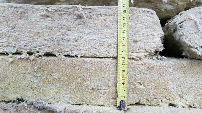 Wełna mineralna płyty twarda 8cm, sucha + granulat 50zl/m3