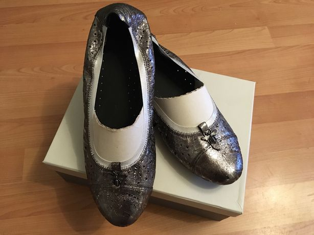 Женская обувь больших размеров / Кожаные балетки 43 размер/