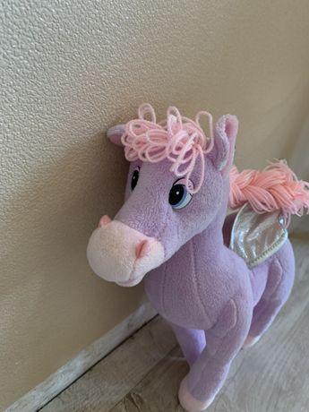 Мягкая игрушка пони , лошадка говорящая