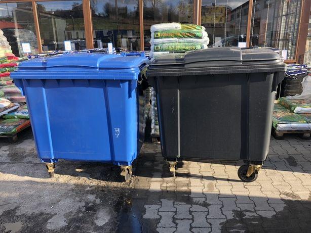 Kosz na śmieci 1100 l ESE niemiecki nowy kontener faktura VAT