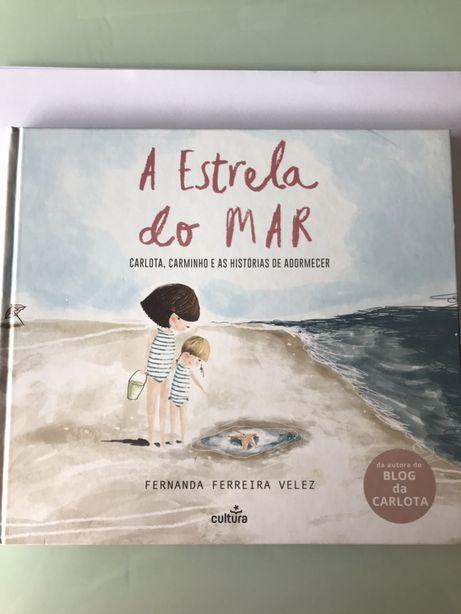 """Livro """"A estrela do mar"""""""