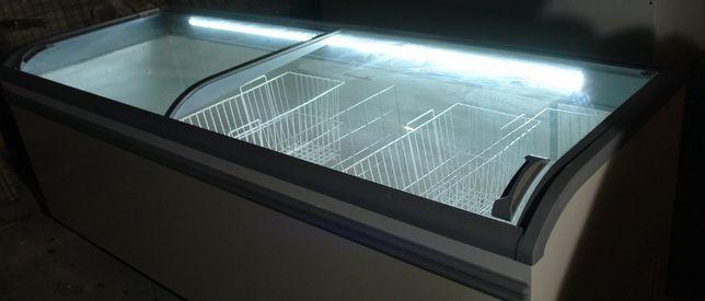 Ларь морозильный AHT Paris 185,210,250-1000-1200л стекло
