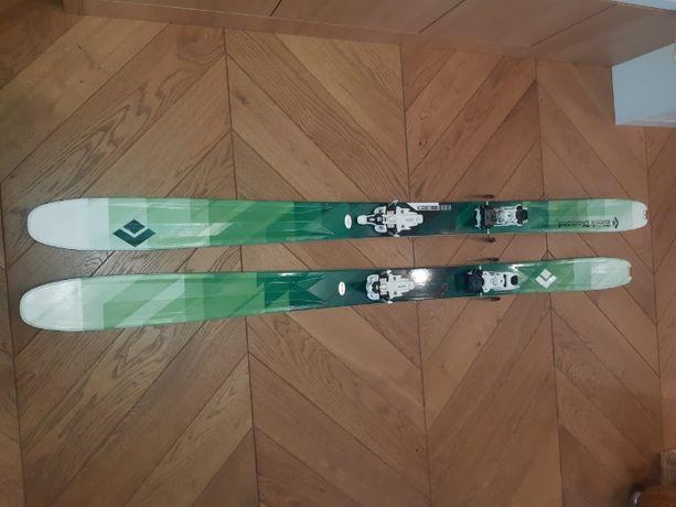 Narty skiturowe Black Diamond Revert 180 +Vipec+Foki taliowane BD
