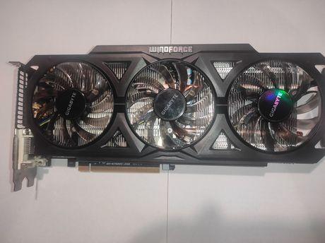 Продам видеокарту GIGABYTE GeForce GTX 760 WINDFORCE OC с 2
