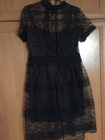 Плаття чорне шифон