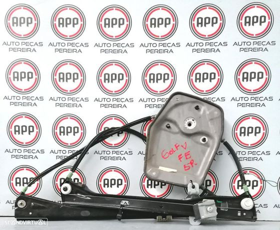 Elevador estrutura VW Golf 5 frente esquerdo