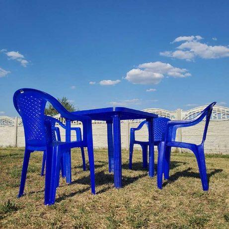 БЕСПЛ ДОСТАВКА ЗАТОКА мебель пластиковая стол, стул, комплект мебели