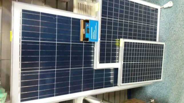 Panele fotowoltaiczny 100w z regulatorem