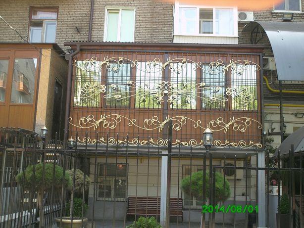 Художественная ковка ,решетки на окна, балконы ,оградки,козырьки