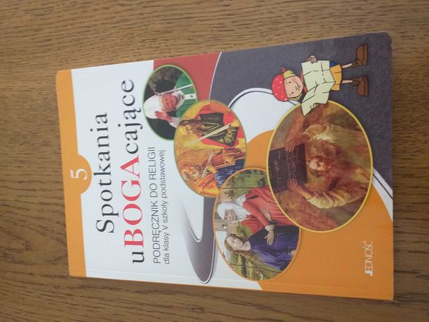 Książka do Religii 3 i 5 klasa