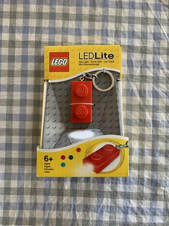 Porta-Chaves LED LEGO 1X2 RED BRICK KEY