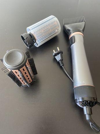Modelador de Cabelo Rotativo Remington Keratin Protect