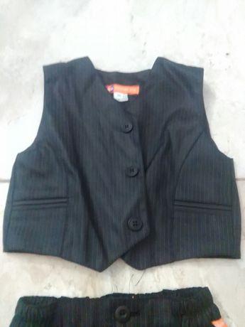 Garnitur , kamizelka spodnie eleganckie 86