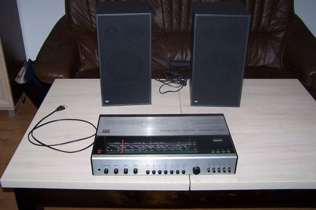 radio amplituner itt stereo 2500 electronic i kolumny itt synton s4-70