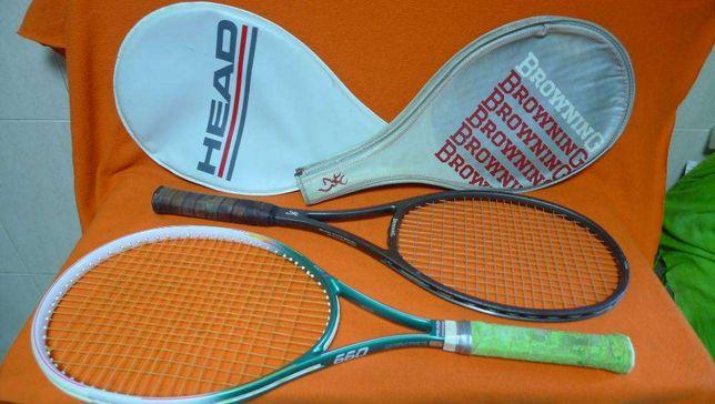 duas raquetes ténis