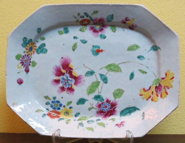 Travessa Porcelana Chinesa Companhia Indias 33.5cm