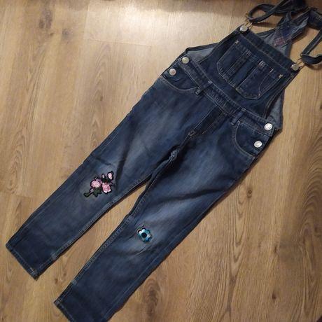 Комбинезон джинсовый H&M 6-7 лет