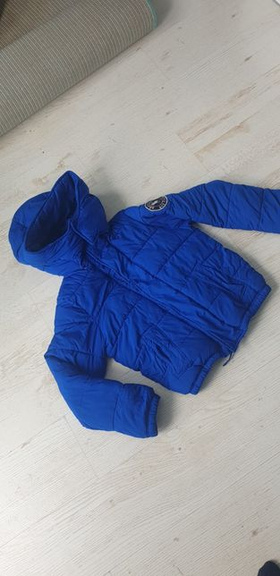Abercrombie kurtka zimowa ocieplana 145cm