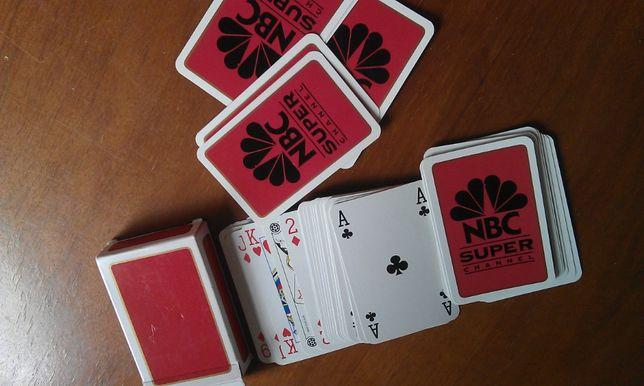 карты игральные NBC
