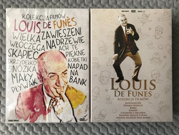 Louis De Funes - Kolekcja filmowa - Box 1-2 (14 DVD)