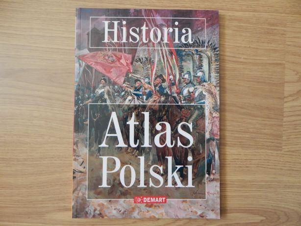 Historia Atlas Polski atlas historyczny nowy