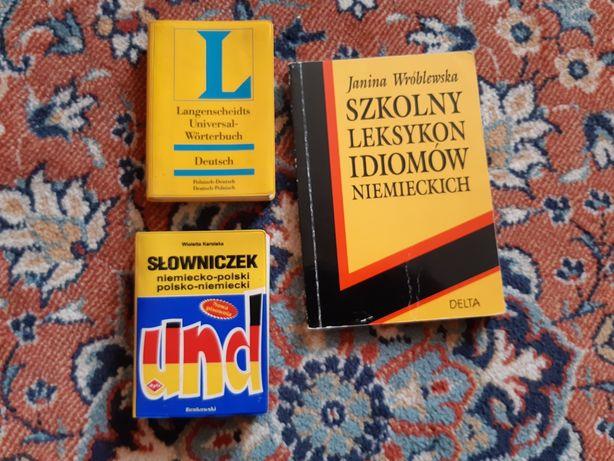 Kieszonkowe słowniki do niemieckiego