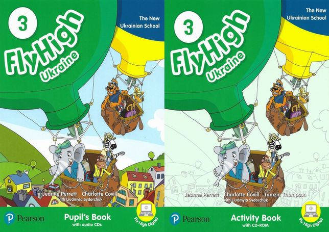 Fly High 3: Pupil's Book + Activity Book + Наклейки + CD