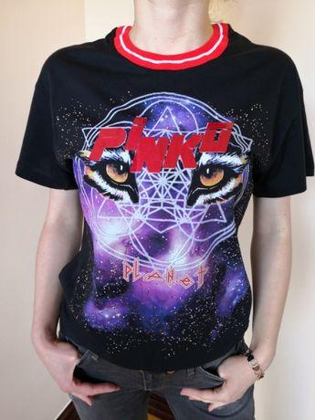 Pinko - t-shirt damski oryginalny, nowy M