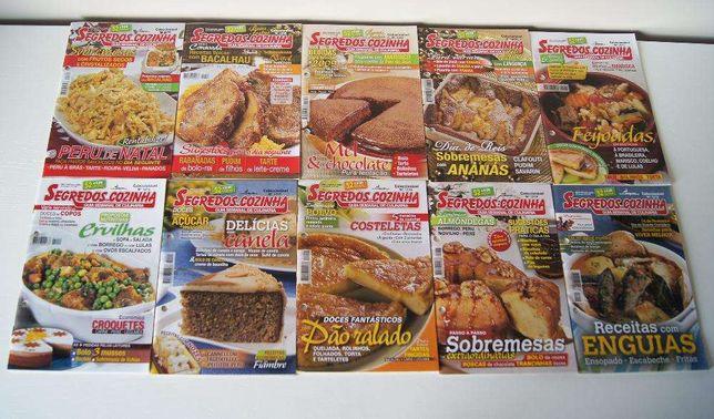 """Revistas culinária """"Segredos de cozinha"""""""