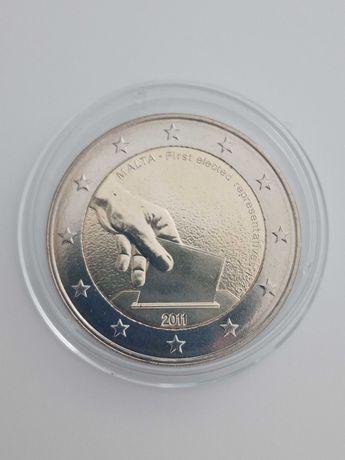 Moeda comemorativa 2 Euros - Malta 2011