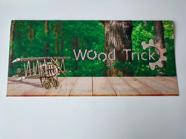 """Продам конструктор из дерева""""Wood Trick"""""""
