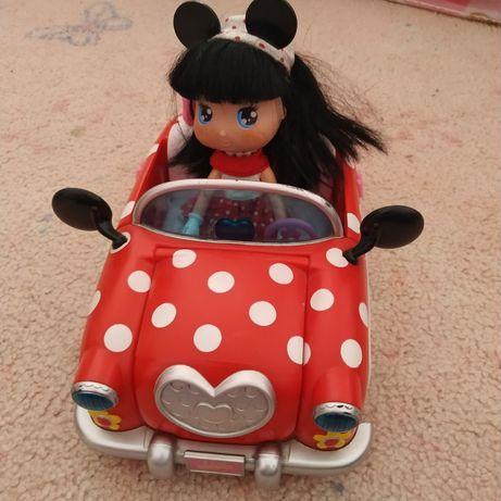 Carro e boneca Minnie