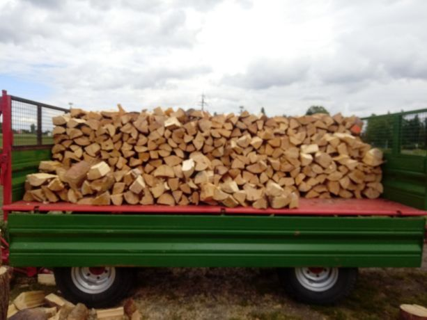 Sprzedam drewno opałowe Sosna