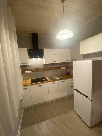 Mieszkanie 2-pok,wyposażone, nowe, oddz.wejscie, dom wolnost, działka