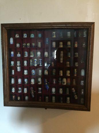 Coleção de 48 dedais