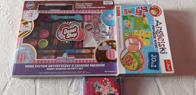 Zestaw kreatywny Donut shop mega zestaw artystyczny