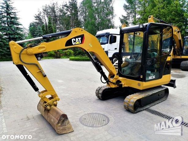 Caterpillar 302,5c  Minikoparka Cat 302,5c 2008r Waga 2,5t Gumowe