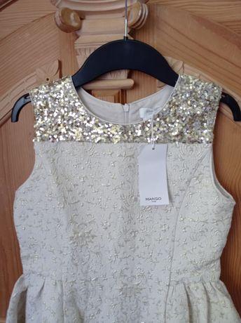 Sukienka nowa Mango r 140