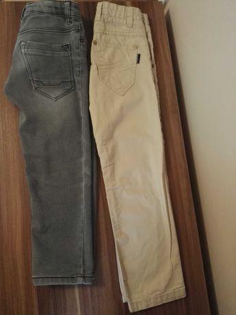 Spodnie Reserved i Pepperts rozm. 116