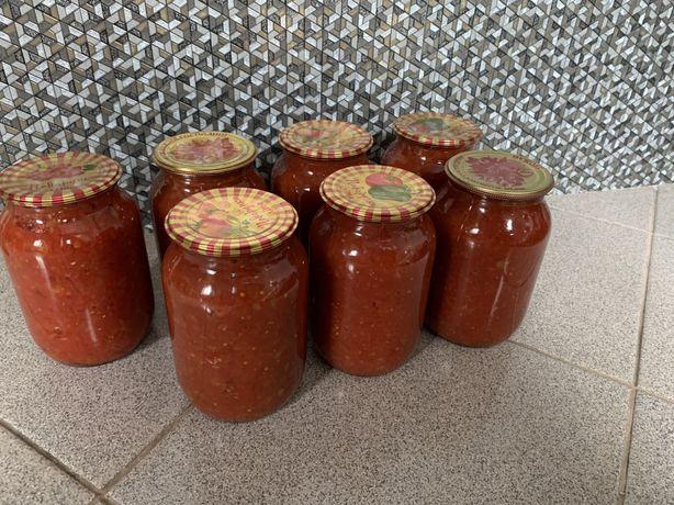 Заготовка на борщ рагу томатная консервация
