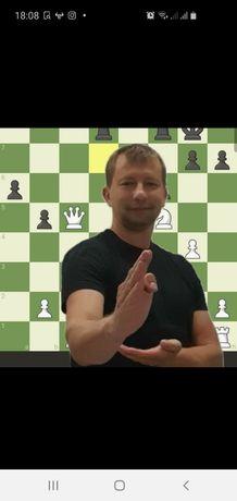 Тренировки  по шахматам онлайн и реальные уроки в шахматы  Ирпень