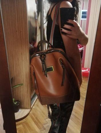 Коричневый рюкзак david jones