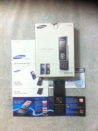 Телефон Samsung SGH J600E, слайдер.