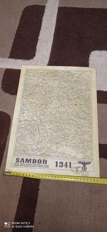 Карта Sambor в гарному стані